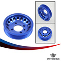PQY RACING- LIGHT- WEIGHT CRANK PULLEY For Mitsubishi EVO 7 8 9 UNDERDRIVE LIGHTWEIGHT CRANK PQY6893