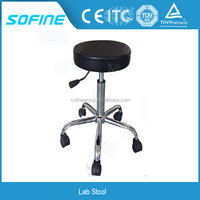 Professional Chemical Resistant Height Adjustable Lab Stool