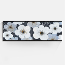 JC Long Designer Fashion Home Decoration Flower Canvas Oil Painting For Living Room FLO-1A