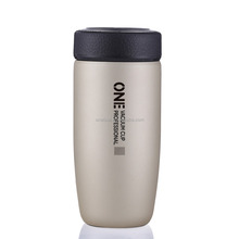 ONE GYBL473 400ml Vacuum Cup Tea Infuser Tumbler Stainless Small Double Wall Vacuum Travel Mug Car Cup For Travel And Office