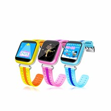 Christmas gift anti-lost sim card 1.54&amp;quot; GPS sos call <strong>smart</strong> baby <strong>watch</strong> q100