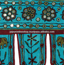 Mirror Embroidered Door Hangings Toran