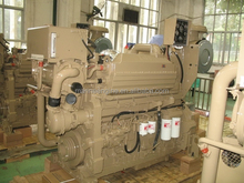 cummins KTA19-M marine diesel engine for yatch.