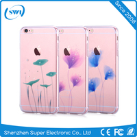 VOUNI High quality flower pattern ultra soft TPU cell phone case for iPhone 6 & 6 plus