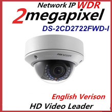 Hikvision DS-2CD2722FWD-I 2MP Hikvision 2mp IR Dome Network Camera Home Surveillance Camera Installation