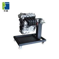 Automotive Teaching Equipment Swivel Gasoline Engine Practice Stand Training Education
