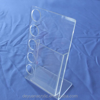 A4 Clear Acrylic Sign Holder Acrylic Holder For Inserts Acrylic Display Holder