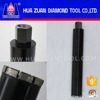 Impregnated tube diamond core drill bits
