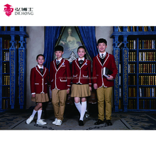 UK European style kindergarten to High School students school Uniforms