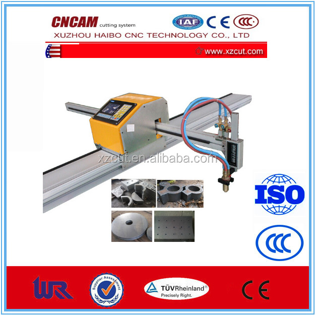 China supplies portable cnc flame and plasma cutting machine