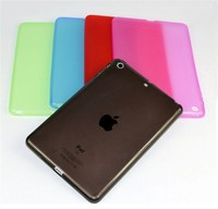 Soft TPU Back cover for ipad mini 2 ultrathin phone case
