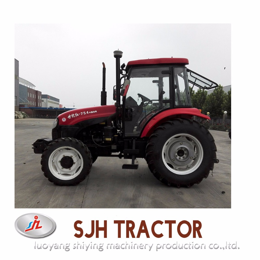 Hot Sale in Tanzania tractor 75hp 4WD/ tractor pricelists/ agricultural tractor