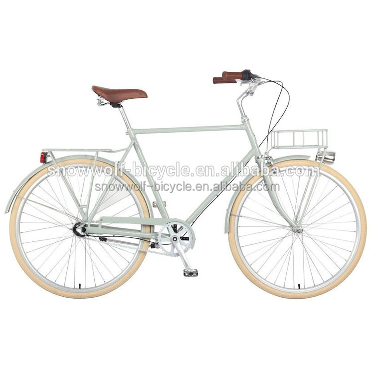 2016 new design 700C dutch bicycle 28 cruiser bike urban bike