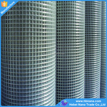 Hot dipped galvanized welded wire mesh price / welded wire mesh sheet factory