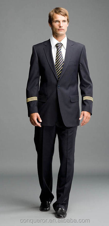New style cabin crew uniform for aircraft commander