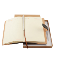 Oem Good Quality Eco-friendly Multicolor Note Book Promotional A4 A5 A6 Notebook Leather