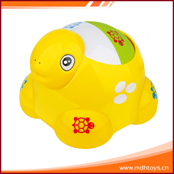 Baby educational plastic mini animal turtle rolling ball toy