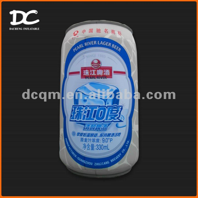 Attractive Large Beer Can Inflatable Advertising Model