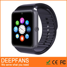 Waterproof 3g Wifi Gt08 Wifi Smart Watch,Android 4.4 Os Dz09 Smart Watch Phone With Sim Card Slot