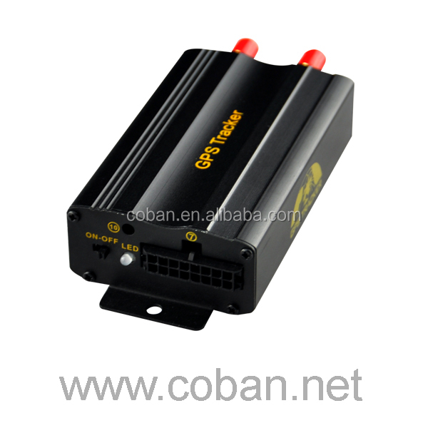 coban TK103A GPS tracker test monitoring the fuel consumption in car