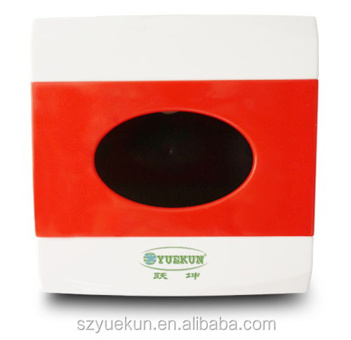 High quality ABS plastic book tissue box cover YK2082