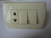 American range Two Gang Wall switches and socket