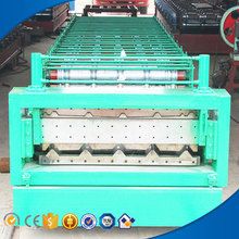 1008/1000 hydraulic color steel double-deck cold roll forming machine