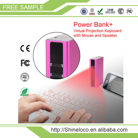 2016 high quality smart touch virtual laser mini bluetooth keyboard