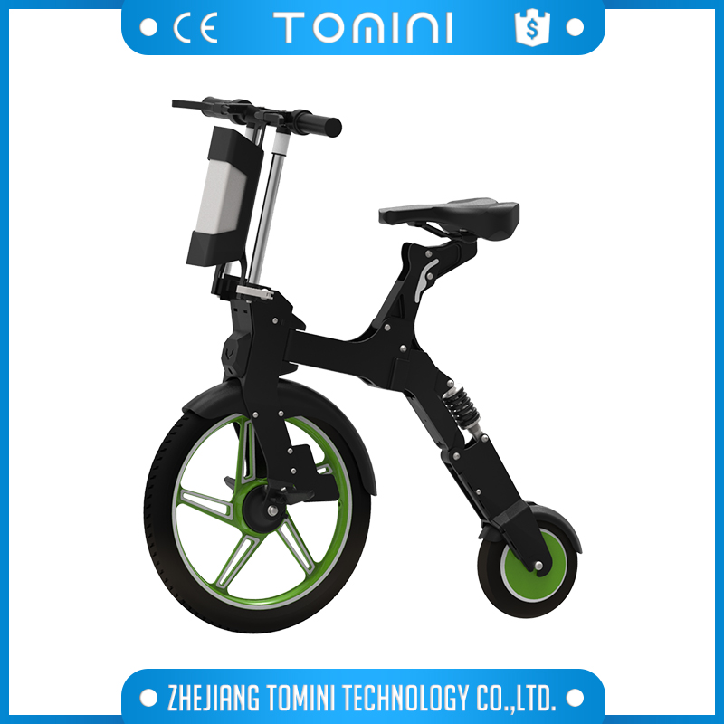 outdoor used 18 inch foldable e bike with 250w motor