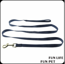 Hot Sell custom print logo nylon dog leash material pet leash for walking
