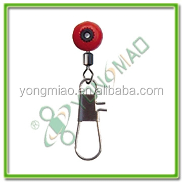 High quatity wholesale fishing tackle big style plastic swivel clip and interlock snap fishing accessories