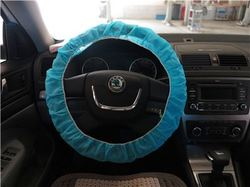 Plastic cover for american racing steering wheels