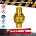 2 inch Brass Material Long neck Germany tyle Fire Hose Couplings Storz