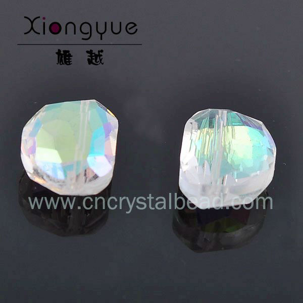 rainbow color combination glass beads wholesale