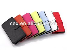 Magnetic Flip Leather Hard Cover Wallet Pouch Case For Samsung Galaxy S5