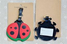 Top grade superior quality large stock animal shape soft pvc luggage tag