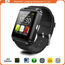 2015 shenzhen alibaba china cheapest u8 smart watch mobile phone for iphone 6 plus