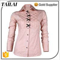 China supplier High quality Custom Fashion women elegant formal blouses