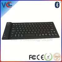 New VMK-34 colored silicone wireless bluetooth keyboard