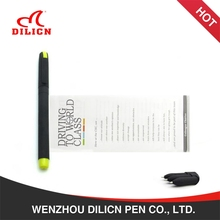 Multi-Function Clip And Gel Inks Promotional Banner Pen