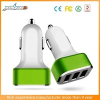 Consumer Electronics Chargers,5.1A High Speed Mini 3-port USB Car Charger Charging For iPhone 5/6 plus Ipad Samsung Smartphone