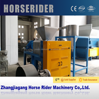 Film Plastic Squeezer/Film Squeezing Machine/film dewatering compactor
