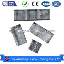 high quality electrical switch boxes outlet boxes Hot Selling