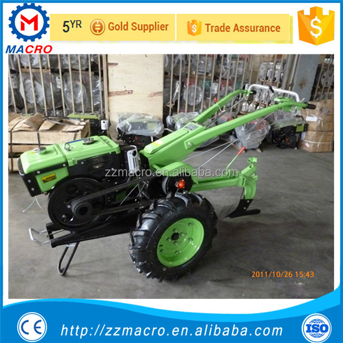 Chinese mini farm tractor 12hp walking tractor for sale in kenya