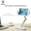 Baseus Rotating Phone PC Clip Holder 360 Degree Rotation Holder Wit Lazy Bracket For iPhone 7 Plus 5.5-15 Inch Smartphone Tablet