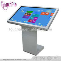 32 - 70 inch ir multi touch screen wall mounted all-in one pc computer with educational software