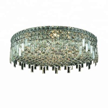Guzhen lighting factory contemporary round crystal ceiling light