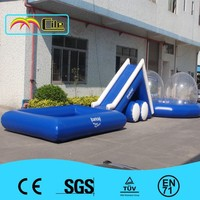 CILE 2015 Inflatable Advertising Equipment Square Air Inflated Swimming Pools for Promotion