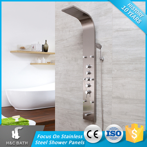 Cheap Prices Style Selections Promotional High-End Sliver Shower Panel