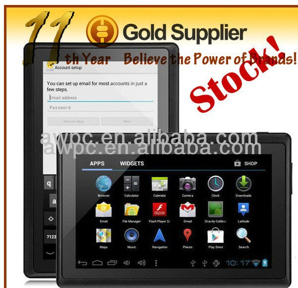 Cheapest 7inch capacitive tablet MID android4.0 A13 tablet cheapest MID